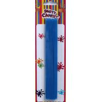Wholesale Blue Long Birthday Cake Candles (YFC0017) from china suppliers