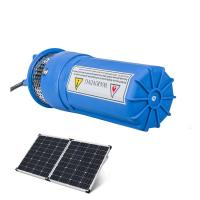 China Submersible DC Solar Water Pump Livestock Watering Irrigation Stainless Steel on sale