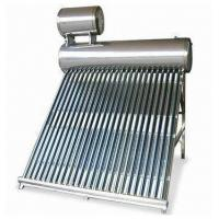 China Flat panel solar water heater for sale