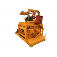 China Bucket Type Concrete Mixer Machine 1 Yard Hydraulic Motor Twin Shaft Concrete Mixer on sale