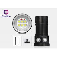 Wholesale Underwater Ultra Bright LED Flashlight Diving Lamp 18000LM Button Switch from china suppliers