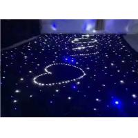 Wholesale IP33 LED Curtain Lights Star Cloth Backdrops For Nightclub Stage Wedding Decoration from china suppliers