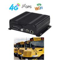 Best 1080P live view Dual SD card Mobile Vehicle DVR with 4G 3G GPS WIFI for bus wholesale