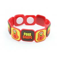 Wholesale PVC Wristband/Bracelets from china suppliers