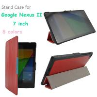 Wholesale 7 Inch Google Nexus Tablet Protective Case PU Leather , Red / Black from china suppliers
