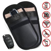China Car Key Signal Blocker Case, Key less Entry Fob Guard Signal Blocking Pouch Bag, Healthy cell Phone Privacy Protection on sale