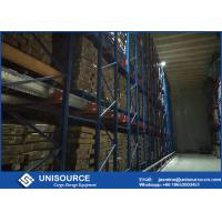 Wholesale Verified Radio Shuttle Racking Unisource Industrial Pallet Shelving For Cargo Storage from china suppliers