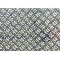 Wholesale Natural Color Patterned Aluminum Tread Plate Five Bars With 6 - 8mm Thickness from china suppliers