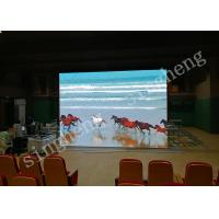 P4 Indoor Full Color Rental LED Display 1R1G1B Pixel Configuration Easy To Install