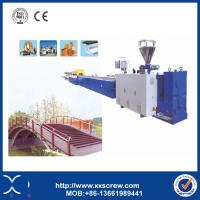 China CE & ISO Plastic Wood Composite Profile Extrusion Plant Machine Manufacturer on sale