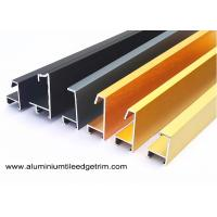 Wholesale Anodized Brushed Metal Picture Frames Wholesale / Photo Or Snap Frame Mouldings from china suppliers