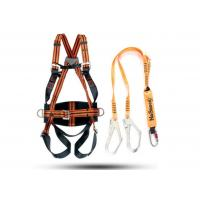 Wholesale Orange Safety Harness Belt / Safety Belt Fall Protection For Performing Aerial Work from china suppliers