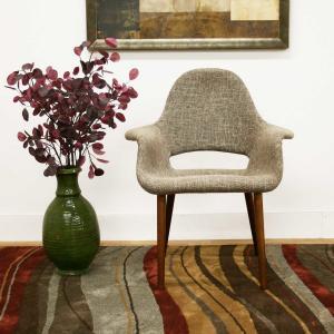 Saarinen Executive Fiberglass Dining Chair Organic Dining With Leather Seat Pad