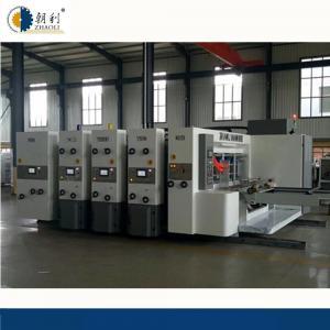 Auto Flexo Printer Slotter Machine / Carton Manufacturing Machine High Speed