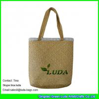 Wholesale LUDA wholesale cheap handbags  fashion seagrass straw beach mat bags from china suppliers