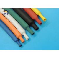 Wholesale 2 / 1 Glossy high temp polyolefin heat shrinkable tubing 10.4MPa Tensile strength from china suppliers