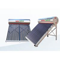 High Density Portable Solar Water Heater With Aluminum Alloy Frame for sale