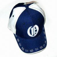 Wholesale 100% Cotton Baseball Cap with 3-D Embroidery at Front from china suppliers