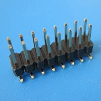 Wholesale 2.54mm pin header,SMD and double row; from china suppliers