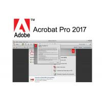 China Full Retail Version Adobe Acrobat PRO 2017 Software for Windows for sale