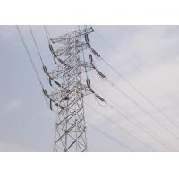 Wholesale Four - Leg Steel Transmission Tower 10KV - 1000KV Voltage With Connection Bolts from china suppliers