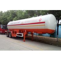 Wholesale Stainless Steel LPG Tank Trailer CIMC Q370R Body Standard Gas Delivery from china suppliers