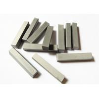 YG6X Custom Tungsten Carbide Parts , Wood Cutting Solid Carbide Knives for sale