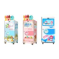 Wholesale Automatic Self Service Soft Ice Cream Vending Machine For Food / Beverage Shops from china suppliers