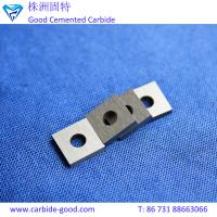 Wholesale YG8 tungsten carbide inserts with a hole for kitchen knife sharpener and wood from china suppliers