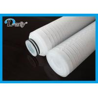 Best best micro membrane pleated PP water filtration filter cartridge wholesale