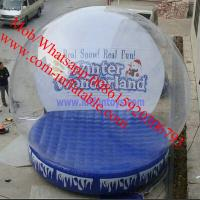 Wholesale inflatable snow globe giant snow globe plastic snow globe giant inflatable snow globe from china suppliers