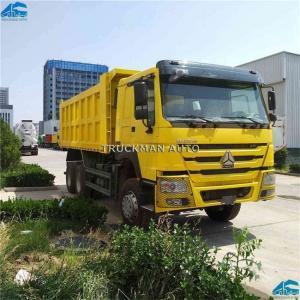 China 10 Wheelers Heavy Duty Tipper Trucks 336hp18m3 Bucket Volume 12.00r20 Tires on sale