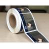 Custom Printed Chrome Bopp Labels , Adhesive Material Bopp Sticker for sale