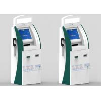 China High Safety Touchscreen Laboratory Test Report Printer Health Kiosk With Platform Scale on sale