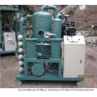 Wholesale ZYD HIGH VACUUM TRANSFORMER OIL FILTRATION EQUIPMENT/ OIL FILTERING SYSTEM ZN Distinctive Oil Filtration System For Transformer Oil Insulation Oil,  Cable Oils. High-vacuum Transformer Oil Purifier Machine from china suppliers