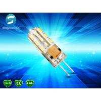 Wholesale Transparent Silicone G4 LED Bulb 12V , G4 SMD LED Light Bulb For Crystal Lamp from china suppliers