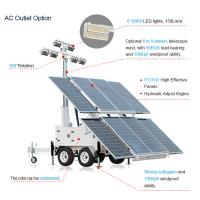Wholesale MOS-2400A-L Mobile Solar Light Tower from china suppliers