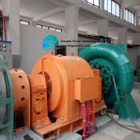 China Off  Grid System With Automatic Black Excitation Hydro 500 Kw Francis Turbine For Hydro Power Plant for sale