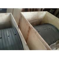 China High Strength Steel Large Diameter Winch Drum Grooved Sleeves Fully Machined for sale