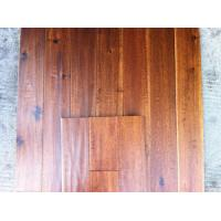 Wholesale big leaf hand scraped solid Acacia wood flooring from china suppliers