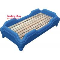 China Space Saving Plastic Furniture CE Certificate 138*62*26cm Anti UV Blue Color for sale