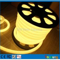 Wholesale 25M spool 12 Volt 360 degree round warm white led flex neon strip for room from china suppliers