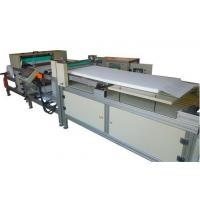 Customized PU Panel Air Filter Rotary Pleating Machine 350mm Width