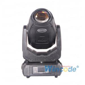 KTV 9 Gobo DMX Beam Moving Head Light 280W With Lens Optical System Mechanical Focus