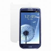Wholesale Clear Screen Protector, Suitable for Samsung Galaxy Siii from china suppliers