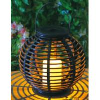 Wholesale Plastic Material Solar Garden Lights , Solar Outdoor Lighting With Natural Looking from china suppliers
