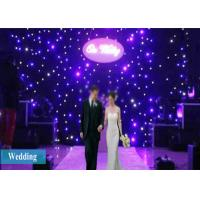 Buy cheap 4X3M LED Curtain Lights Stage Drape Starry Party Backdrop Wedding Background from wholesalers