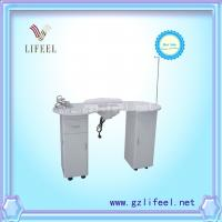 China Nail manicure table with dust collector nail desk nail salon equipment on sale