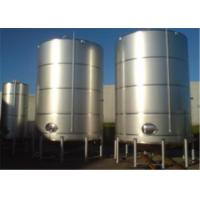 Wholesale Single Double Wall Jacketed Mixing Tank Stainless Steel Water Storage Tanks from china suppliers