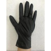 Wholesale Hair Salon Beauty Black Nitrile Exam Gloves / Black Nitrile Examination Gloves from china suppliers